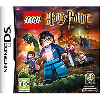 jeu pc harry potter et la chambre des secrets lego harry potter ées 5 à 7 sur nintendo ds jeux