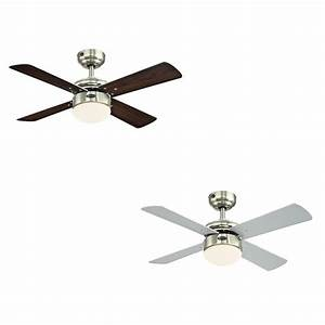 Ceiling fan light volts : Westinghouse ceiling fan colosseum brushed nickel