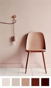 Deco Couleur Cuivre : rose poudre cuivre parquet blanc chaise et mur ton ~ Teatrodelosmanantiales.com Idées de Décoration