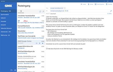 Gmx Mail For Windows 10 Pc & Mobile Free Download