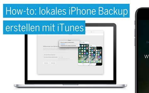 how to backup iphone on itunes how to lokales iphone backup erstellen mit itunes