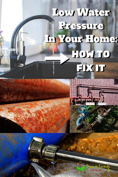 low water pressure in house how to fix low water pressure in house low water pressure problems