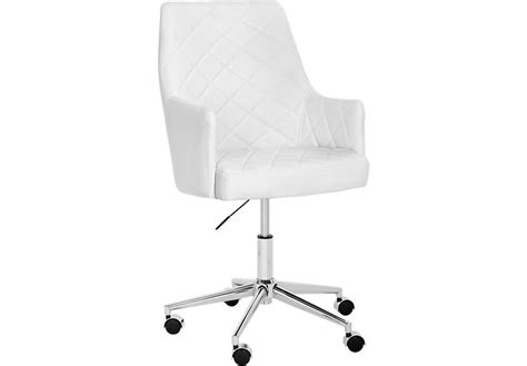 white desk and chair chase place white desk chair office chairs white