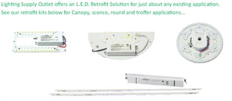 lighting supply outlet commercial lighting led retrofit
