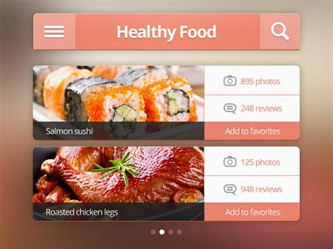 free food apps for iphone best collection of 20 high quality free ui kits psds for