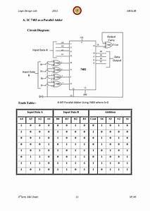 Logic Diagram Of Ic 7483