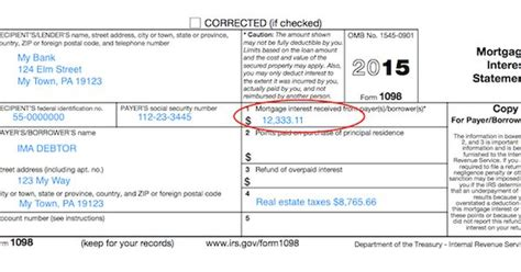 understanding  forms form  mortgage interest