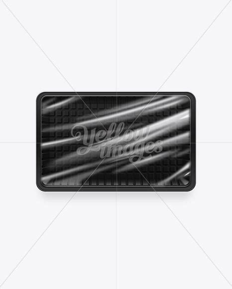Bottle mockups make the process of presenting and packaging your designs in high quality photorealistic manner possible. Download Black Plastic Food Packaging Tray PSD Free Mockup ...