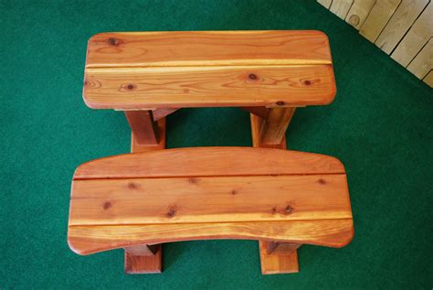 Cing Table And Bench by Sea Ben Picnic Table Benches The Redwood Store