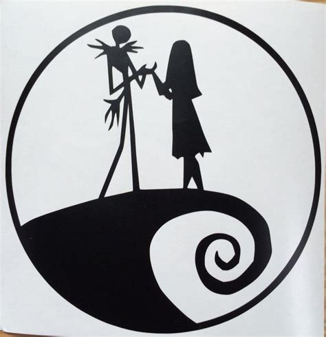 Nightmare Before Christmas Jack And Sally Svg – 245+ SVG File for DIY Machine