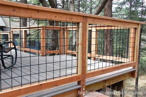 hog wire gallery hog railing