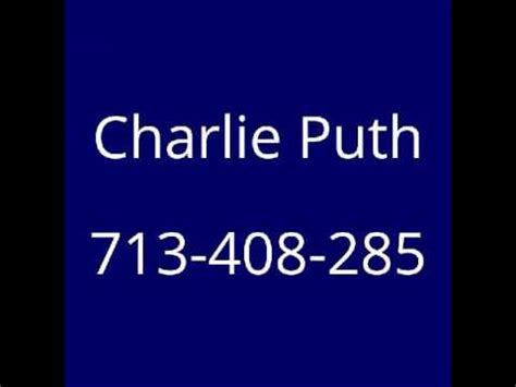 puth phone number phone number