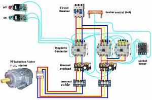 Electrical Page  D O L Starter Motor Wiring Diagram  Star