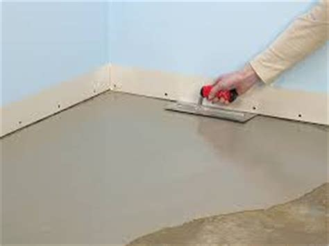 How to Use Self Leveling Compounds   Applying Self
