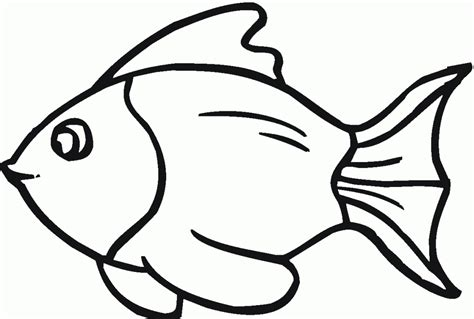 cartoon drawings  fish clipartsco