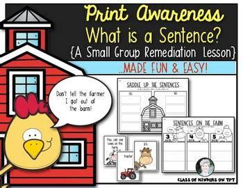print awareness what is a sentence for kindergarten 980 | original 3529014 1