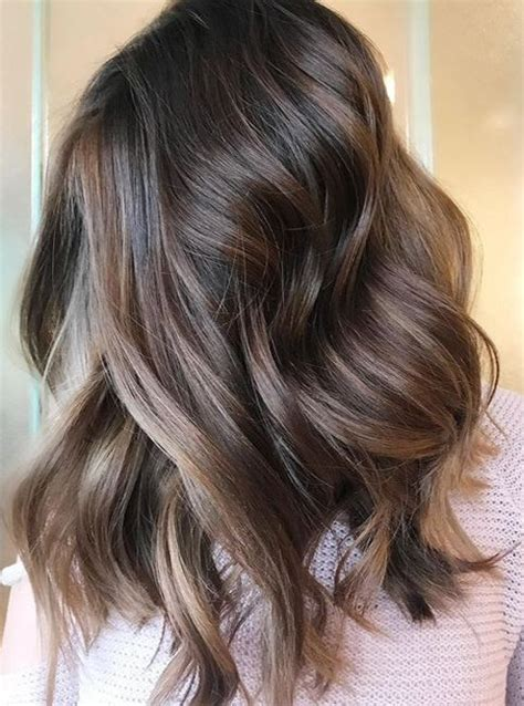 Coloured Hairstyles by 32 Best Chocolate Brown Hair Color Ideas 2018 Hair