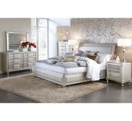 hefner silver 5pc king bedroom group badcock more