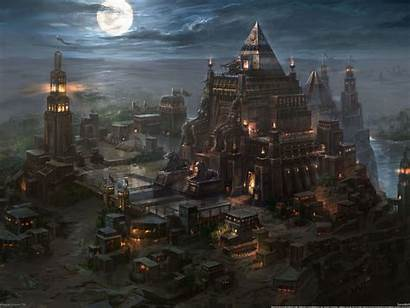 Egyptian Kingdom Fire Under Egypt Wallpapers Fantasy