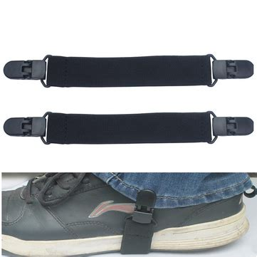motocross boot straps 2pcs elastic motorcycle biker trouser ends boot straps