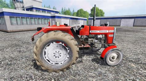 Massey Ferguson 255 [without cabin] for Farming Simulator 2015