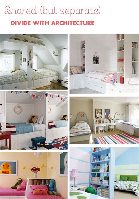 Zimmer Abtrennen Ideen by Shared But Separate Bedrooms For The Home