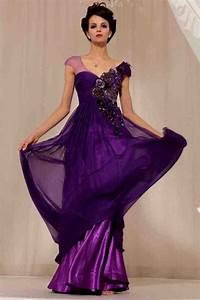 Royal purple wedding dress wedding and bridal inspiration for Royal purple and white wedding dress