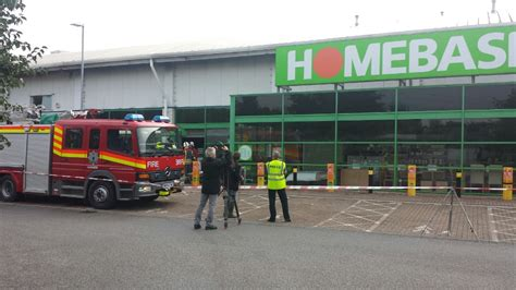 country news fire under control at homebase in liskeard west country itv news