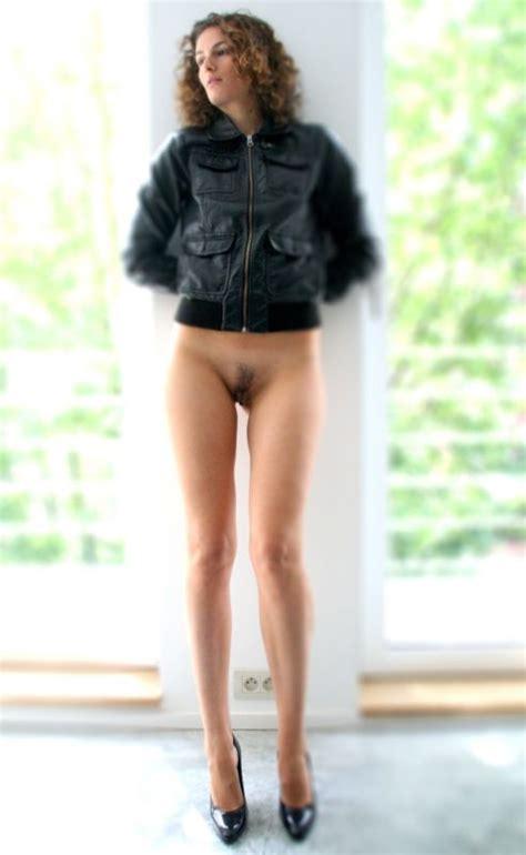 Girls Walking Around Bottomless