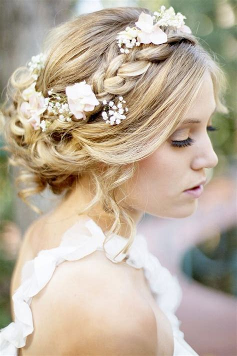 braided crowns hairstyles   summer bride arabia