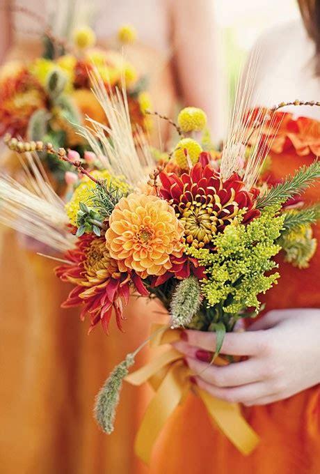 cynthia wedding inspirations wheat bouquets