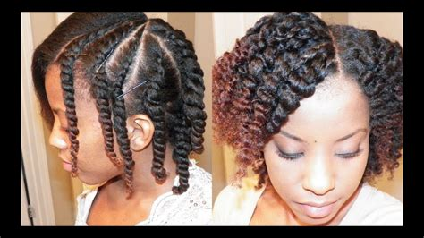 Flat Twist Hairstyles by Flat Twist Out On Blown Out Hair