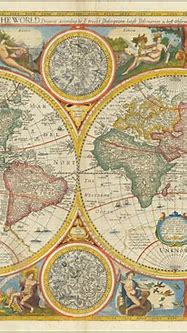 A New and Accurat Map of the World Drawne according to ye ...