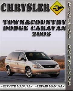 Dodge Town Country 2003 Factory Service Repair Manual