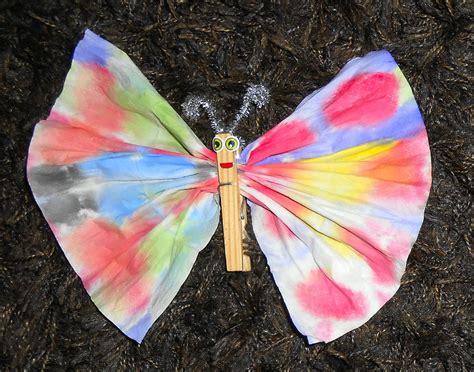 papillon pince a linge papillons en mouchoirs la maison f 233 erique