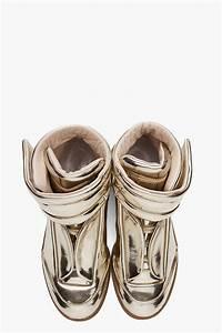 Maison Martin Margiela Metallic Sneakers