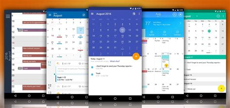Best Calendar App For Android by The 5 Best Android Calendar Apps To Replace Your Stock One