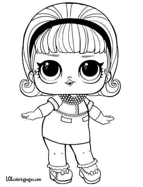 madame queen750×980 pixels Lol dolls Coloring