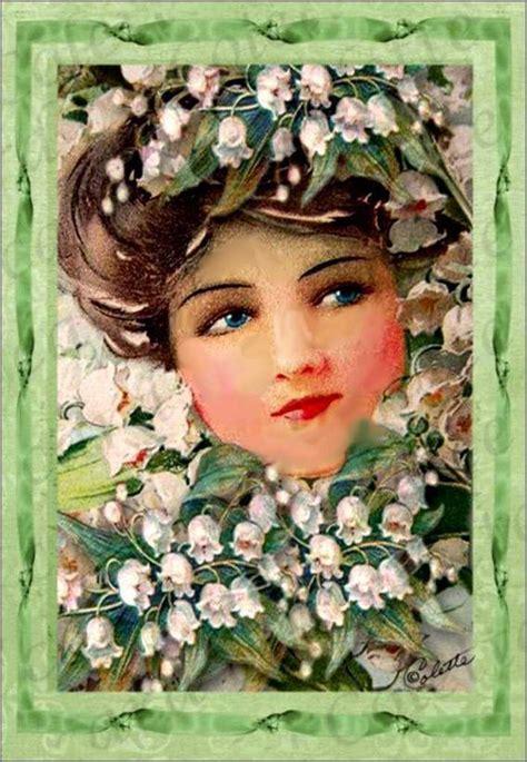 cartes illustrées vintage premier mai - Balades comtoises ...