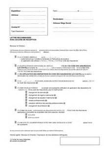 Résiliation Contrat Assurance Vie by Modele Lettre Resiliation Garantie Accident De La Vie