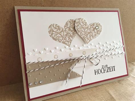 herzklopfen stampin  wedding cards wedding