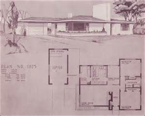 Simple House Plans With Breezeway To Garage Placement by Design No 1075 By Home Building Plan Service 1948 Mid