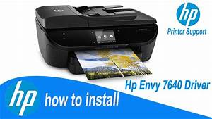 Hp Envy 7640 Driver  Full Installation Guide