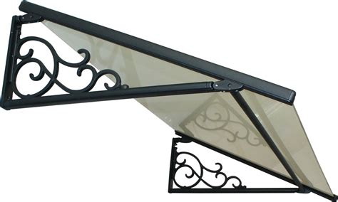 marquise de porte classique vitr 233 e sur mesure porte d