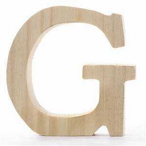 standing wooden letter g word and letter cutouts With wooden letter g