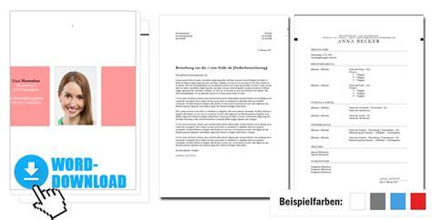 Vorlage Bewerbung Word by Bewerbungsvorlage Word 4 Anpassbare Premium Designs