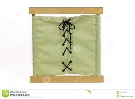 cadre d habillage mat 233 riel de montessori photo stock image 51800220