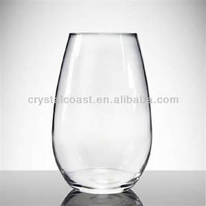 Gros Vase En Verre : verre transparent vase de fleurs suspendus pas cher grand ronde claires vases en verre ~ Melissatoandfro.com Idées de Décoration