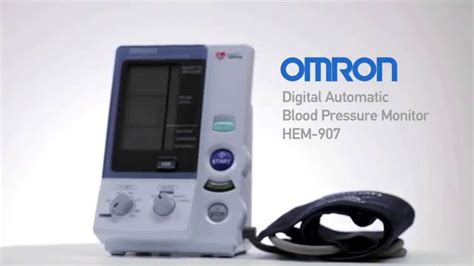 Omron Digital Automatic Blood Pressure Monitor HEM-907