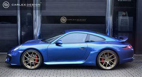 blue porsche 911 carlex design blue electric is a classy cobalt porsche 911